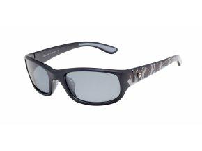 Dětské sluneční brýle Relax Lissa R3061 černá/šedá