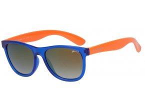 Dětské sluneční brýle Relax Kili R3069A lesklá, modrá, oranžová