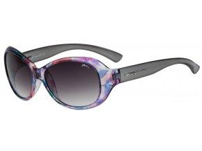 Sluneční brýle Relax Jawa R0280I lesklá, květinový postisk, šedá