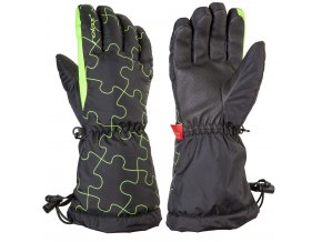 Dětské lyžařské rukavice Relax PUZZY RR15A