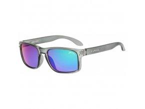 Dětské sluneční brýle Relax Melite R3067B matná, šedá