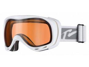 Lyžařské brýle Relax AIRFLOW HTG22N matná bílá