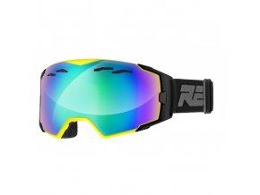 Lyžařské brýle Relax ARROW HTG55C matná neon žlutá, černá 18
