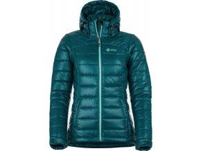 Dámská zimní bunda KILPI GIRONA-W Modrá