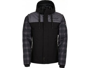 Pánská zimní bunda KILPI KIWI-M Černá
