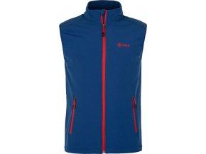 Pánská třísezónní softshellová vesta TOFANA-M KILPI Tmavě modrá