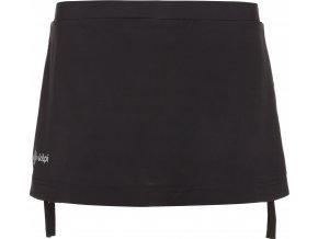 Dámská sukně s vnitřními kraťasy KILPI TITICACA-W Černá 18