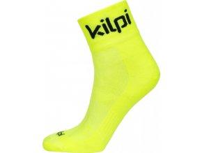 Univerzální sportovní ponožky KILPI REFTON-U žlutá 18