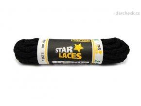 Vysoká kvalita Proma Star Laces clasic tkaničky černé 90 cm Tkaničky Star Laces Dámské 17RM465