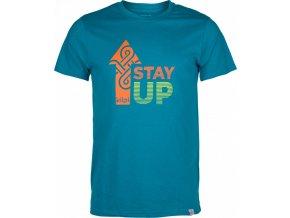Pánské tričko KILPI STAYUP-M  Modrá