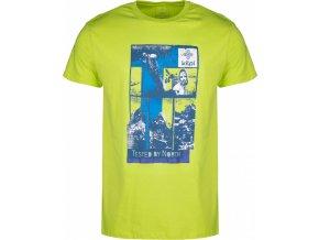 Pánské tričko KILPI LUCKYBOY-M  Zelená