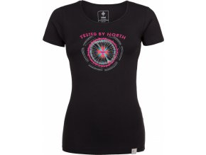 Dámské bavlněné tričko KILPI CAMI-W  Černá