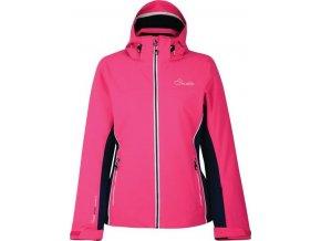 Dámská lyžařská bunda Dare2B DWP361 INVOKE II Cyber Pink