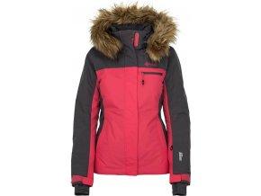 Dámská  lyžařská  bunda KILPI MILVA-W Růžová 19