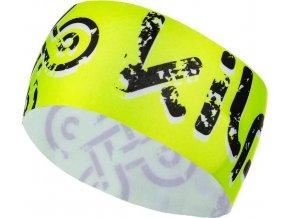 Unisex fleecová čelenka KILPI BANDI-U Žlutá 19