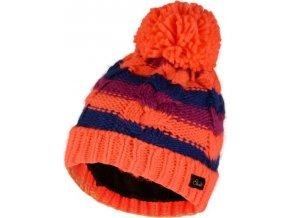 Dětská zimní čepice  DGC323 DAREB Candies Oranžová