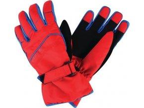 Dětské lyžařské rukavice Dare2B DBG306 FLAG DOWN II. Červená
