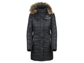 Dámský zimní kabát KILPI BAARA-W  Černá (NADMĚRNÁ VELIKOST)