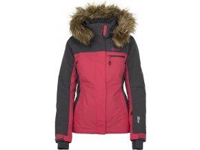 Dámská lyžařská bunda KILPI MILVA-W Růžová (NADMĚRNÁ VELIKOST)