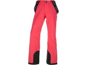 92288 damske lyzarske kalhoty kilpi europa w ruzova nadmerna velikost