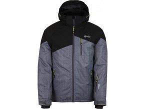 Pánská lyžařská bunda KILPI OLIVER-M Šedá 18 (NADMĚRNÁ VELIKOST)