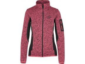 92399 damsky fleece svetr kilpi rigana w ruzova nadmerna velikost