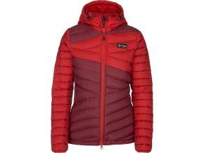 92510 damska perova bunda kilpi svalbard w cervena 19 nadmerna velikost
