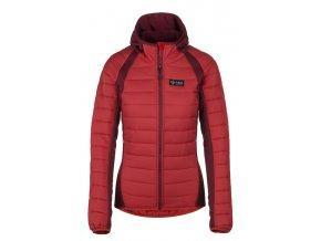92546 damska outdoor bunda kilpi adisa w cervena nadmerna velikost