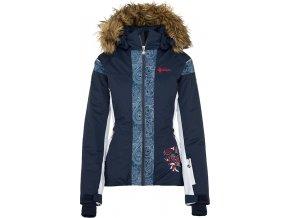 Dámská lyžařská bunda KILPI DELIA-W  Modrá 19 (NADMĚRNÁ VELIKOST)
