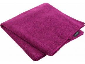 92792 outdoorovy rucnik regatta rce136 travel towel lrg fialovy