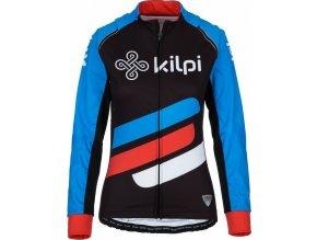 93032 1 damska tymova cyklisticka bunda kilpi palm w modra 19