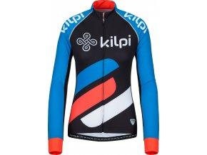 93047 1 damsky tymovy cyklisticky dres kilpi rapita w modra 19