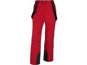 Pánské lyžařské kalhoty KILPI MIMAS-M Červená (NADMĚRNÁ VELIKOST)
