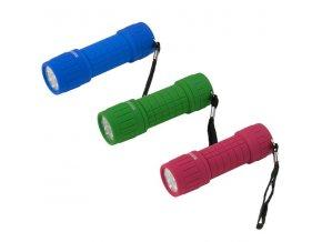 Svítilna Regatta RCE071 9 LED HAND TORCH Mix (Barva Růžová, Velikost UNI)