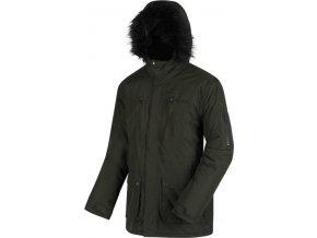 Pánská zimní bunda Regatta RMP235 SALINGER Khaki