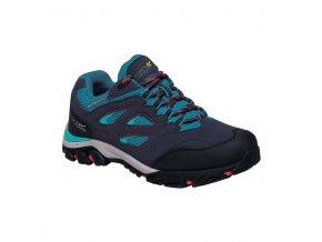 Dětská treková obuv RKF572 REGATTA Holcombe Low Jnr Světle modrá