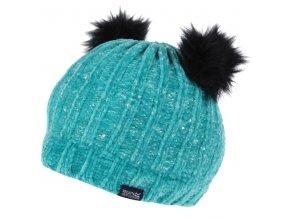 Dětská zimní čepice RKC174 REGATTA Hedy Lux II Světle modrá