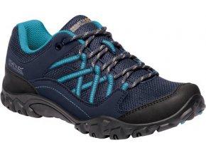 Dámská treková obuv  REGATTA RWF617 Lady Edgepoint III Modrá