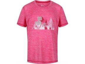 Dětské tričko REGATTA RKT096 Alvarado IV Růžové