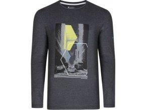 Pánské tričko DMT452 DARE2B Fused Tee Tmavě šedé