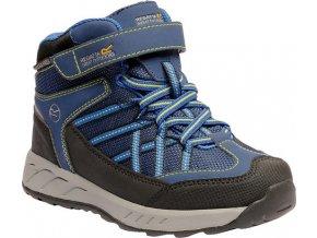 Dětská treková obuv RKF508 EGATTA Samaris V Modrá