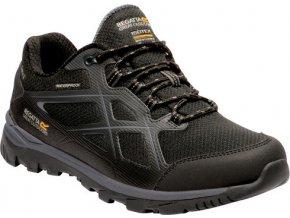 Pánská treková obuv RMF623 REGATTA Kota Low II Černá