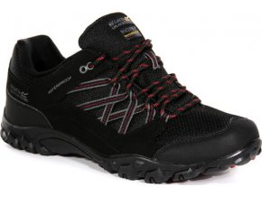 Pánská treková obuv RMF671 REGATTA Edgepoint III  Černá