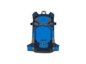 Freeridový/skialpový batoh KILPI RISE-U Modrá 20