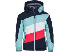 Dívčí lyžařská bunda KILPI  SAARA-JG Modrá