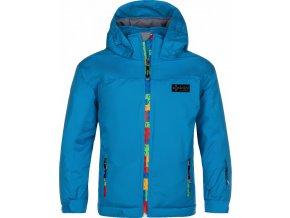 Chlapecká lyžařská bunda KILPI LIGAS-JB Modrá