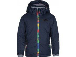 Dívčí lyžařská bunda KILPI LIGASA-JG Tmavě modrá