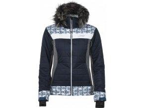 Dámská lyžařská bunda KILPI LEDA-W Tmavě modrá 18