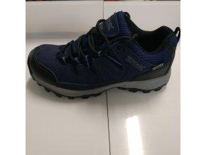 Dětská trekingová obuv REGATTA RKF449 Holcombe Low AbyssClemat