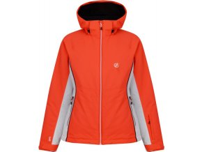 Dámská lyžařská bunda DWP437 DARE2B Thrive neon oranžová